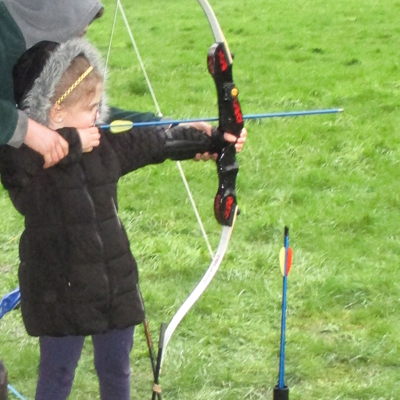 children archery holmfirth